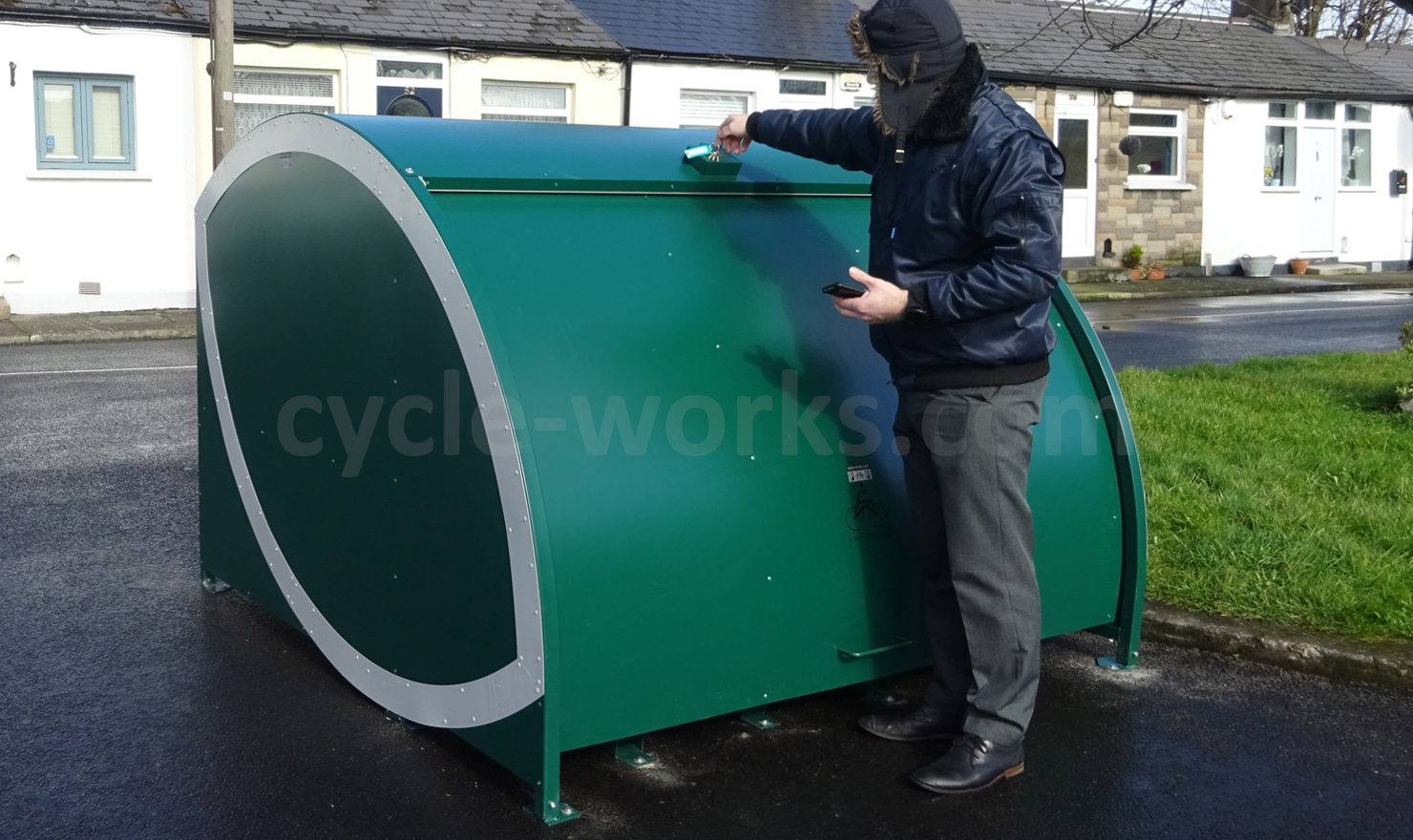 Cycle-Works Velo-Store Cycle Locker Kirwan Cottages Dublin 1