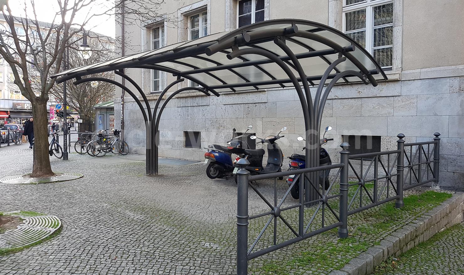 Josta Pergola Bike Shelter
