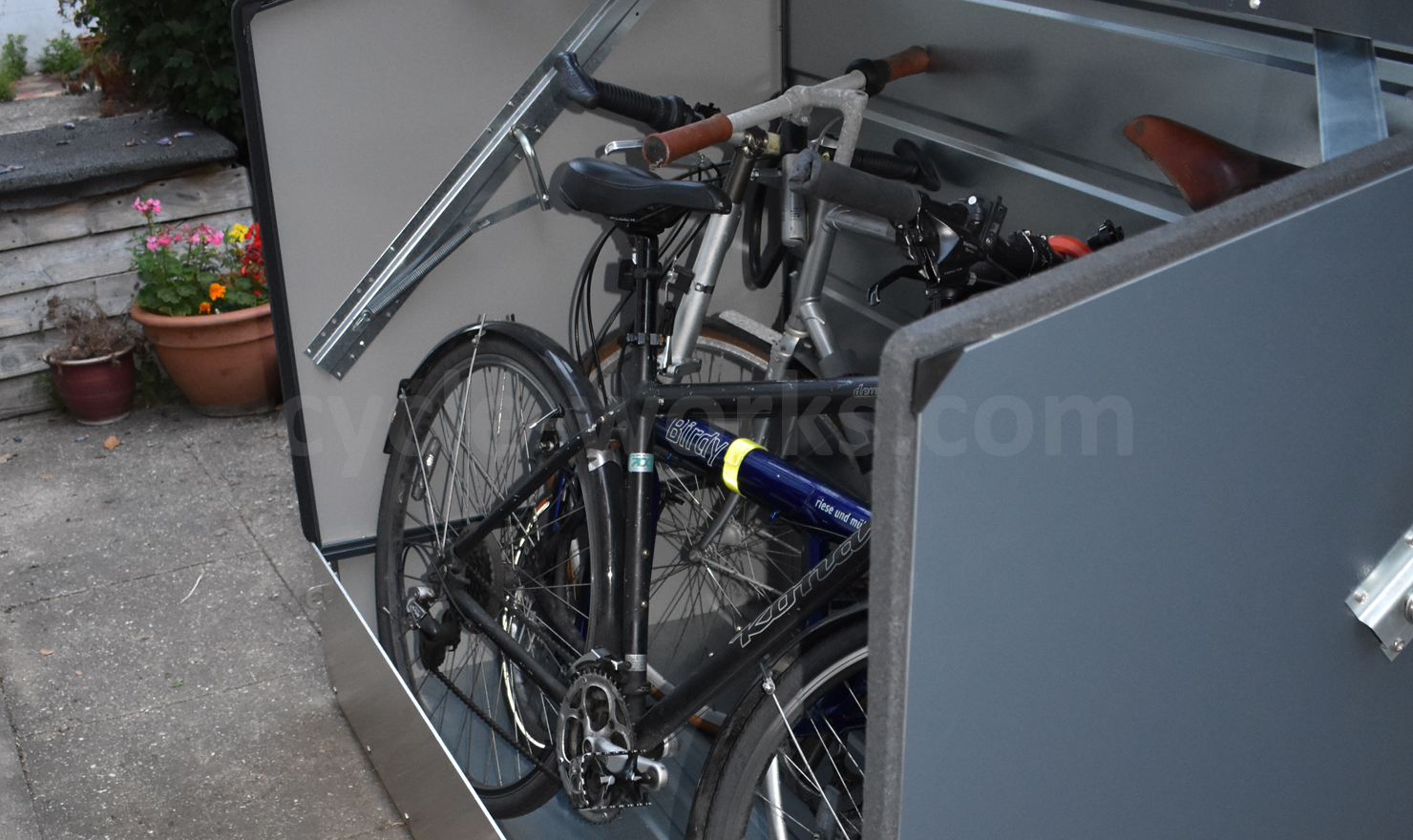 Bike Bunker Home Cycle Storage