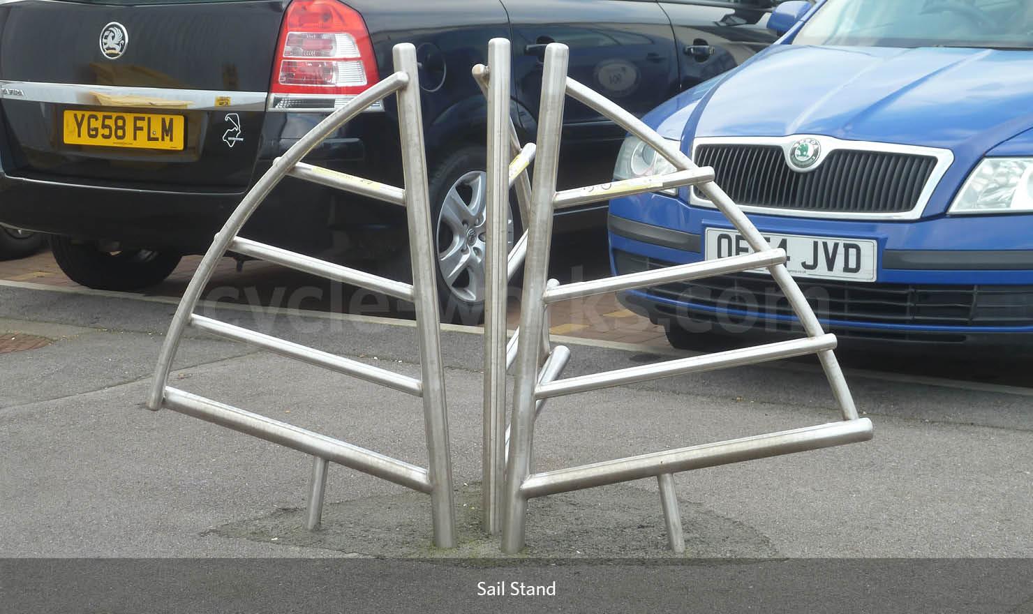 Sail Cycle Rack