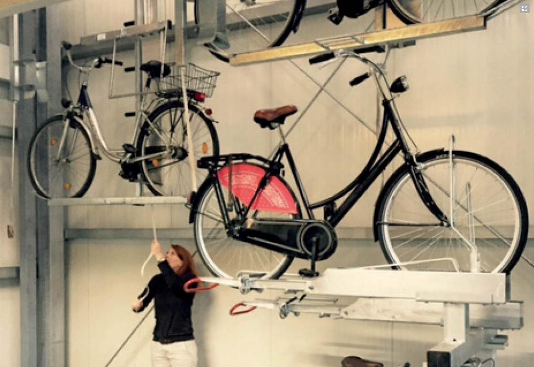 Josta Triple Parker Bicycle Parking System
