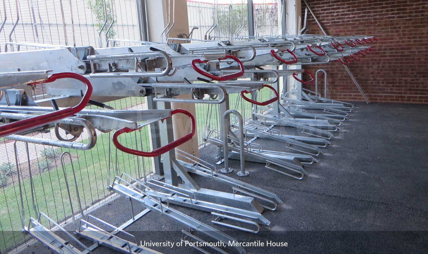 Custom-Made Secure Bike Areas