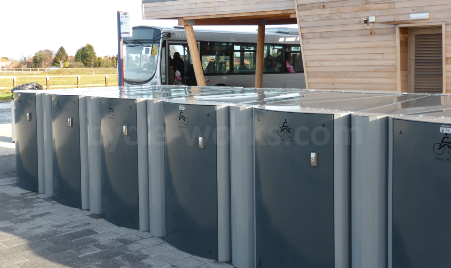 York Askham Bar Park and Ride Bicycle Lockers
