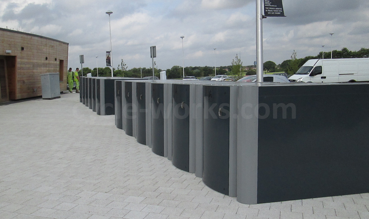 York Askham Bar Park and Ride Cycle Lockers