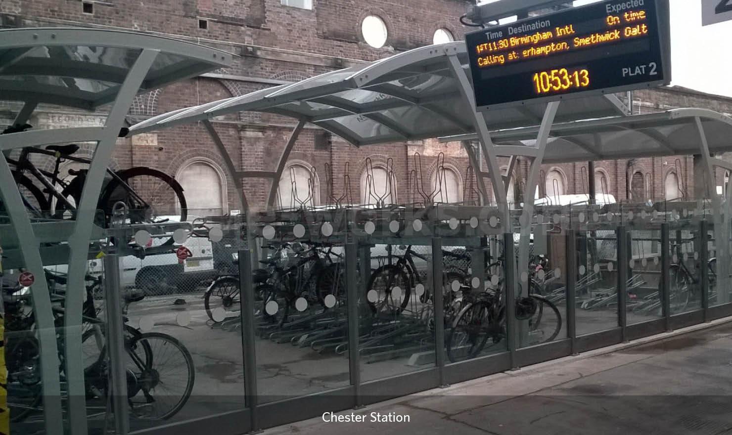 Chester station Josta