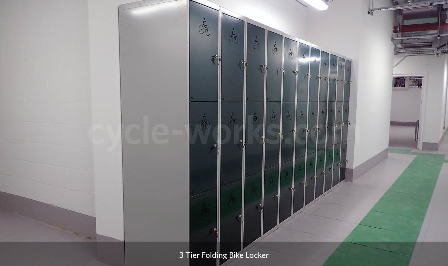 3-Tier Folding Bike Lockers