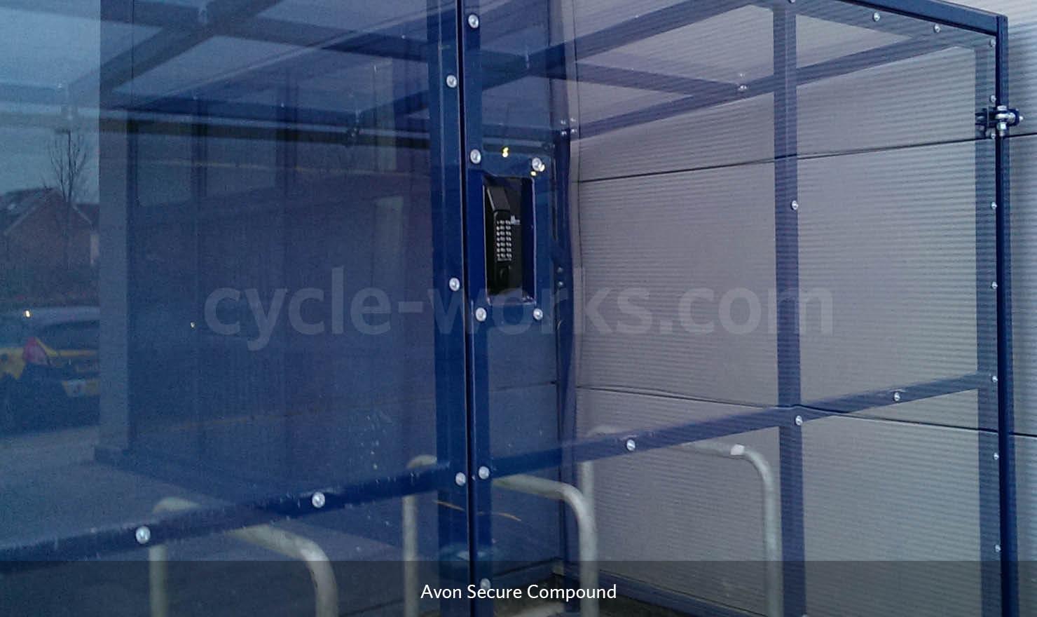Avon Bicycle Shelter