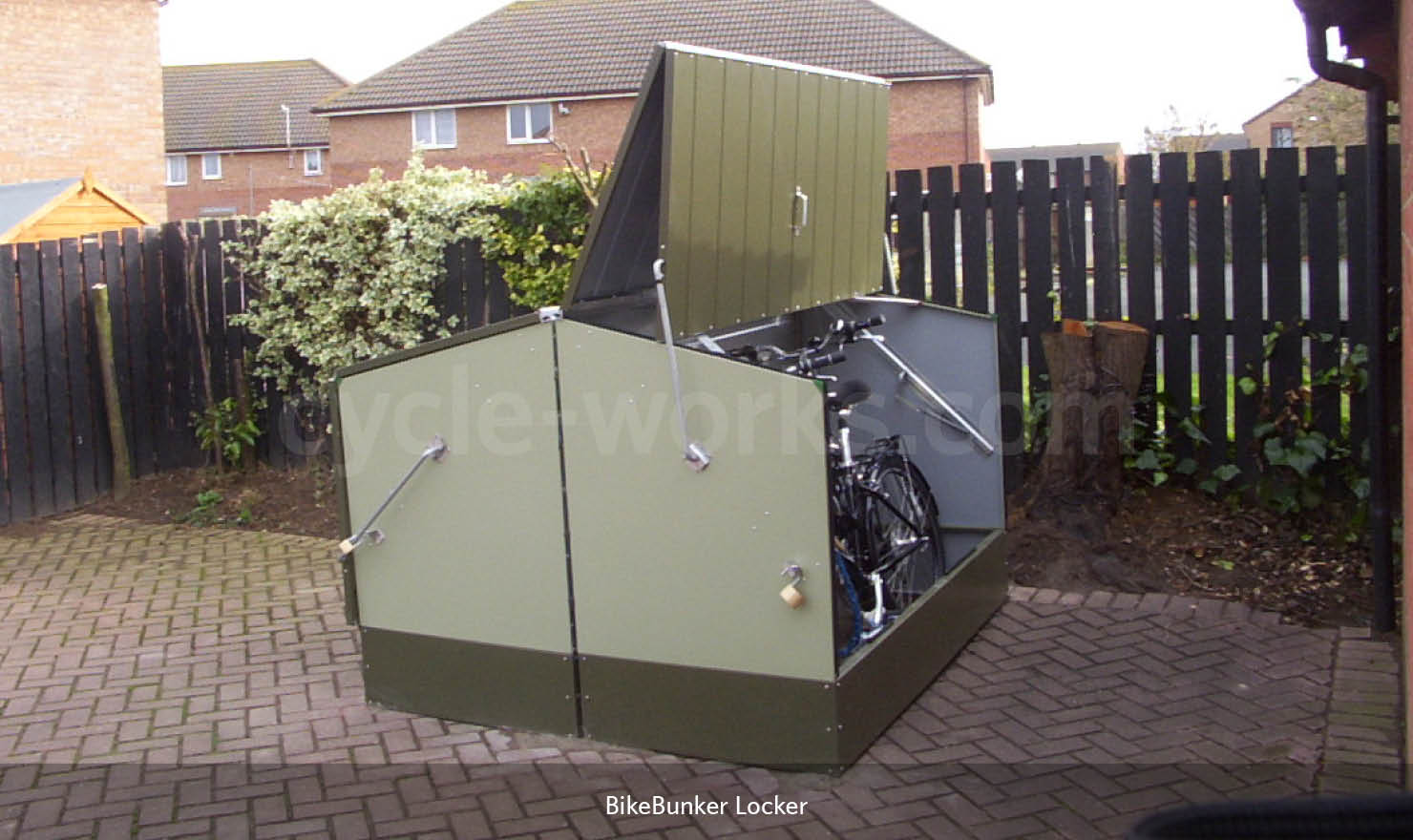 Bike Bunker Cycle Storage