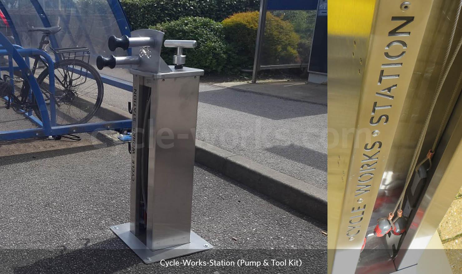 Cycle Works Bike Pump Station