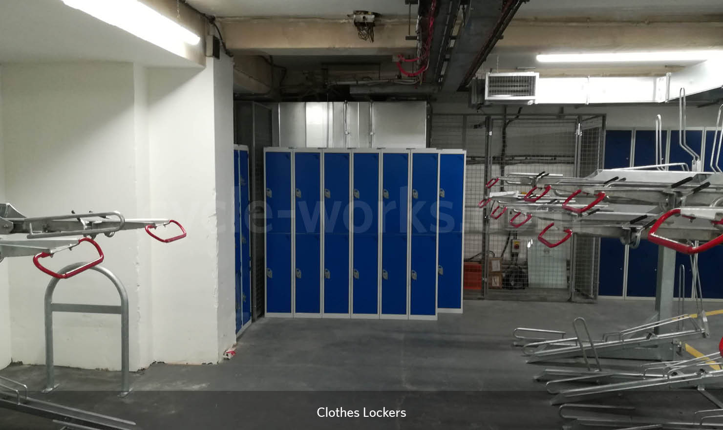 Changing Room Locker Design