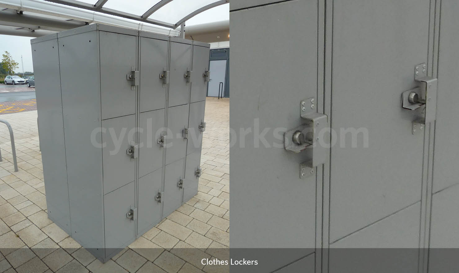 Stainless Steel Clothes Lockers