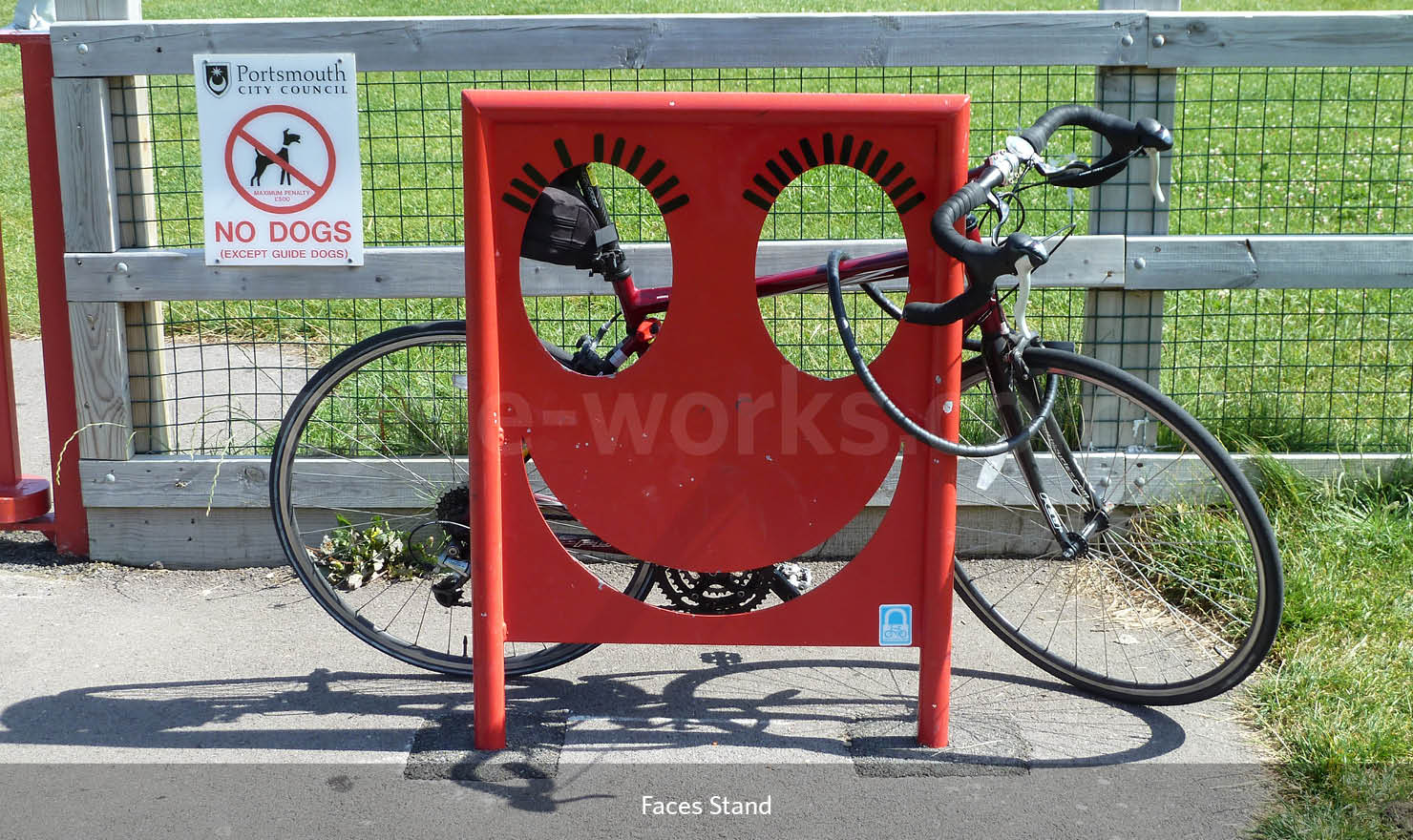 Faces Bike Rack