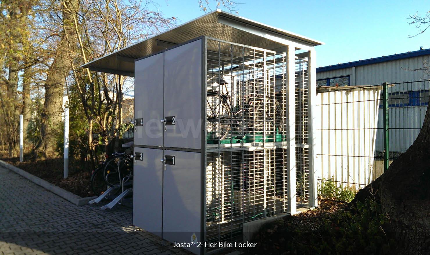 Josta Bike Store Lockers
