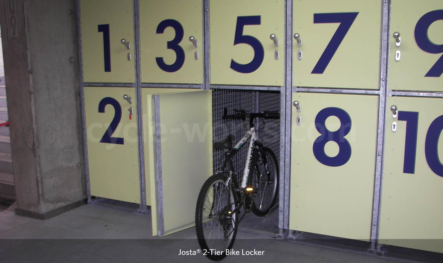 Josta Bike Lockers