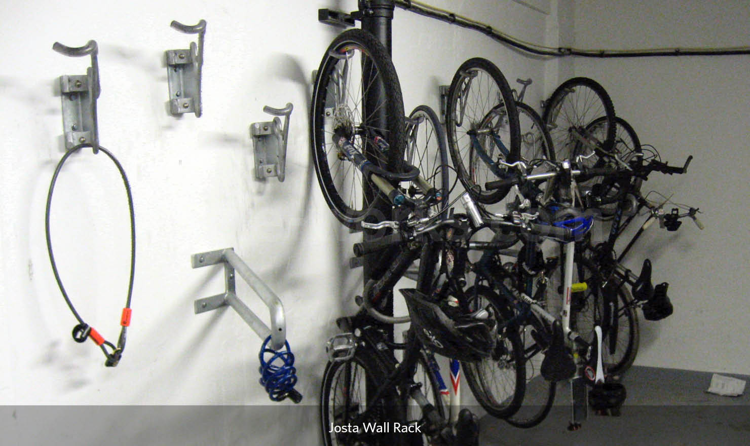 Wall Mounted Rack for Cycles