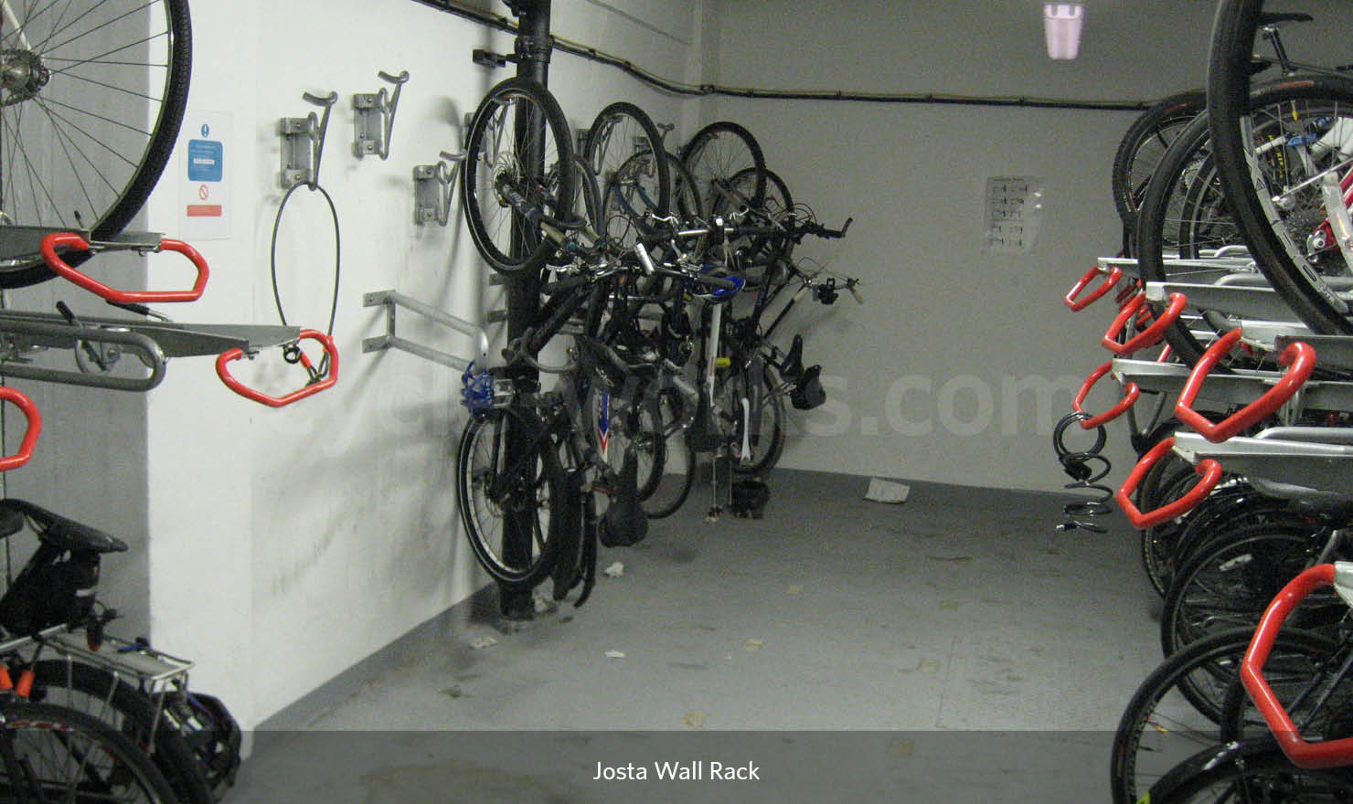Wall Mounted Rack for Bicycle