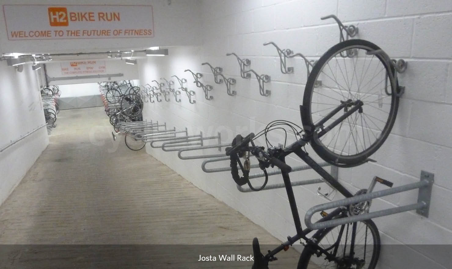 Josta Cycle Wall Rack