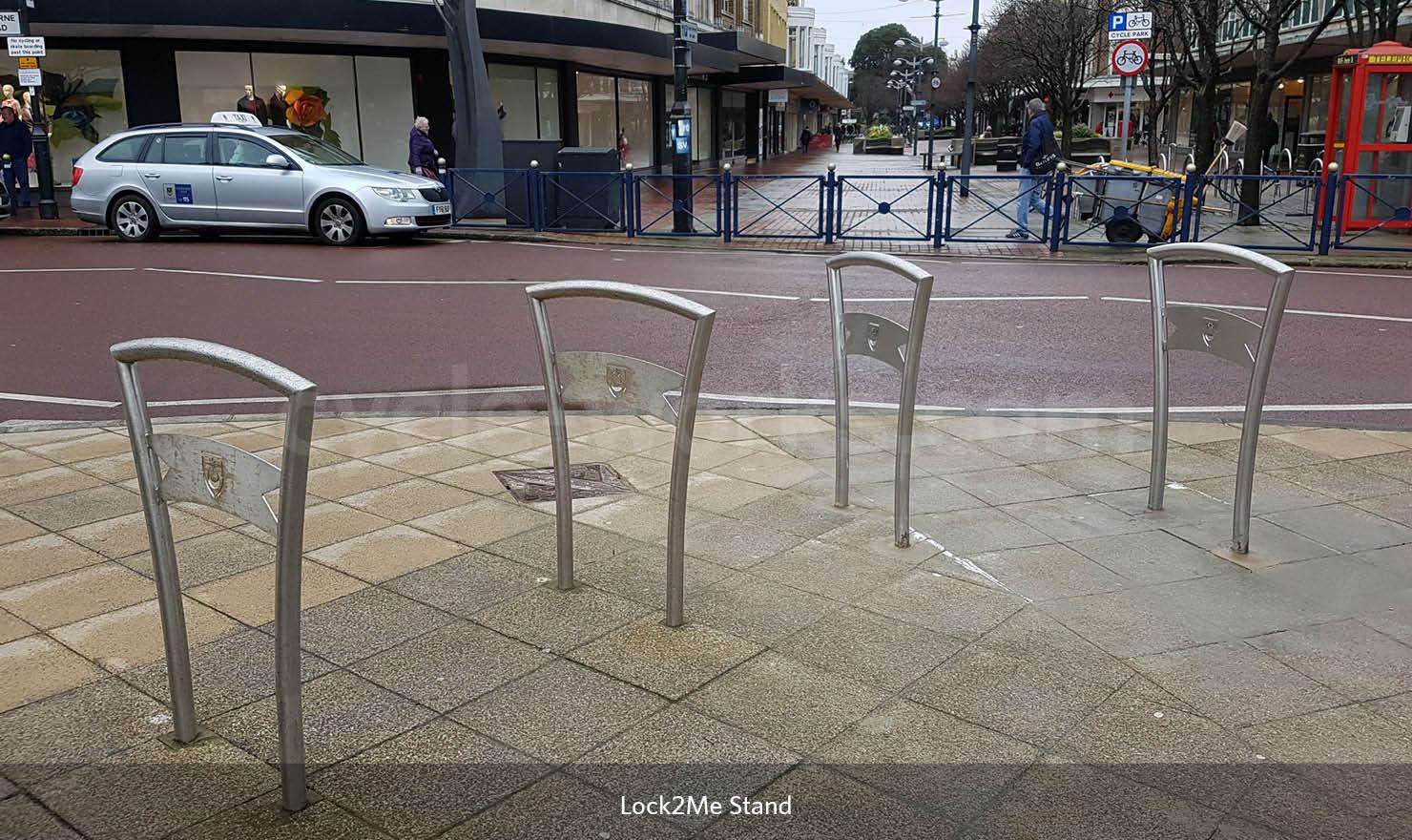 Lock 2 Me Bike Stand
