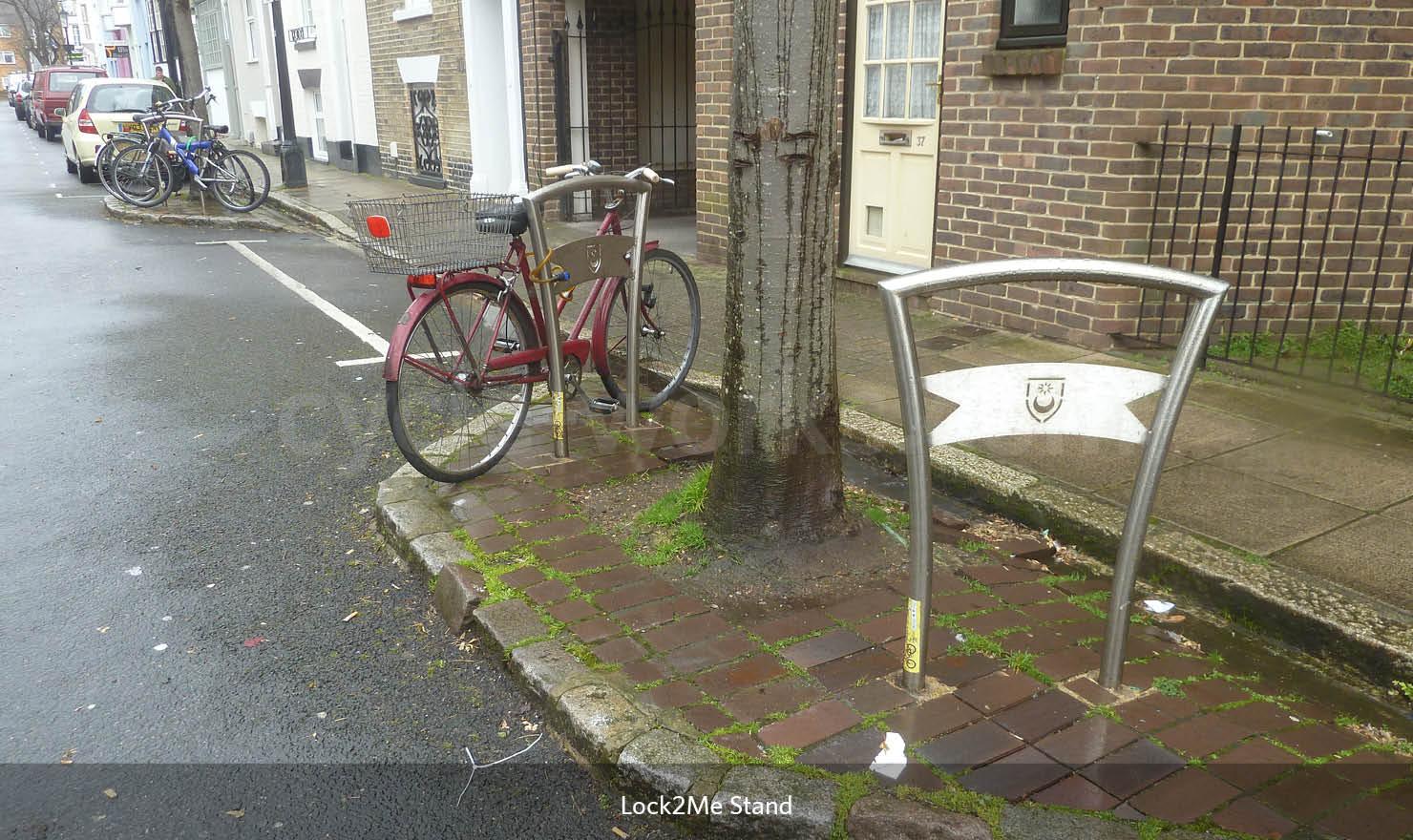 Lock to Me Bicycle Rack