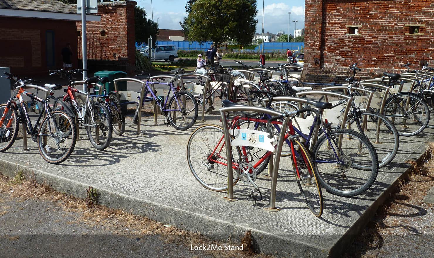 Lock to Me Bike Rack