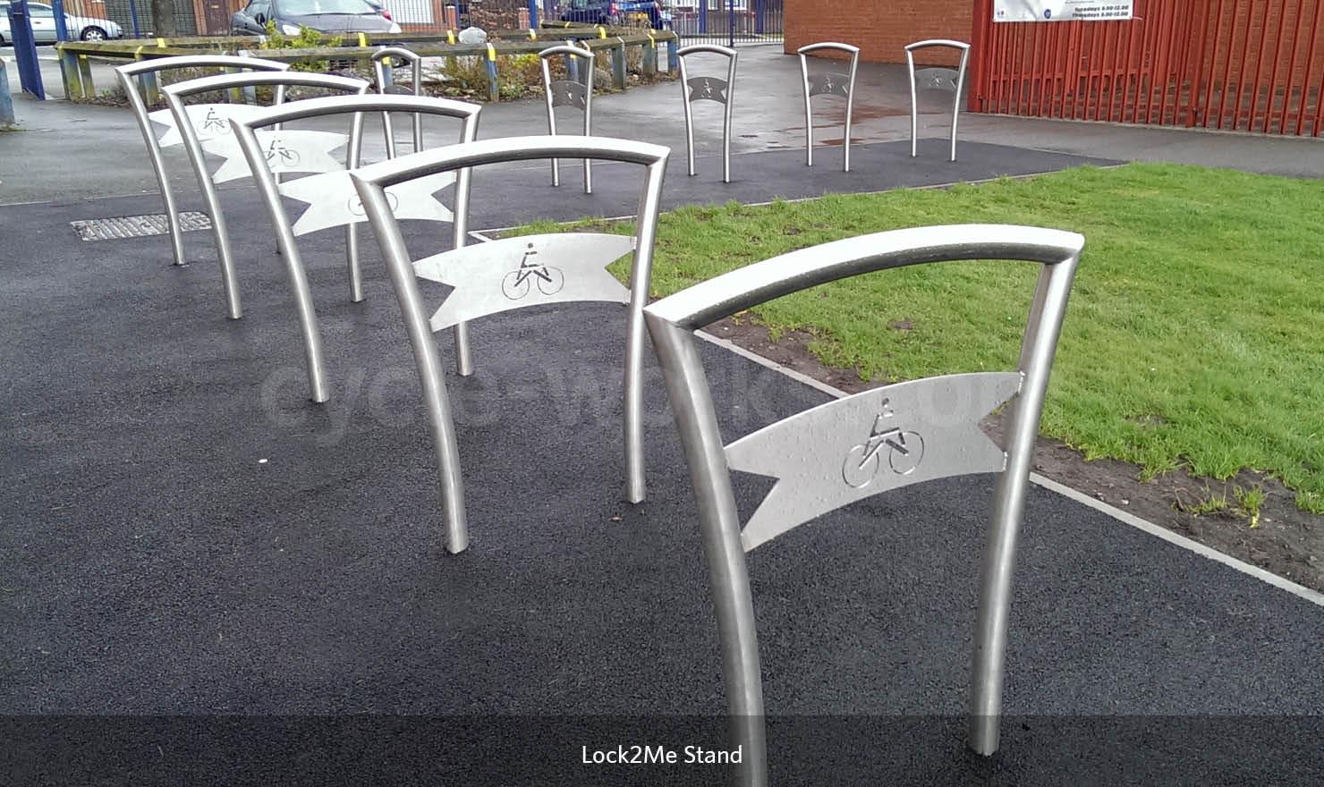 Secure Bike Stands