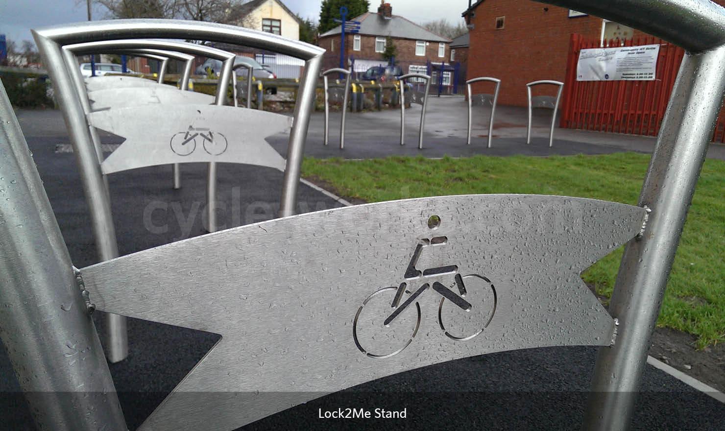 Secure Bike Rack
