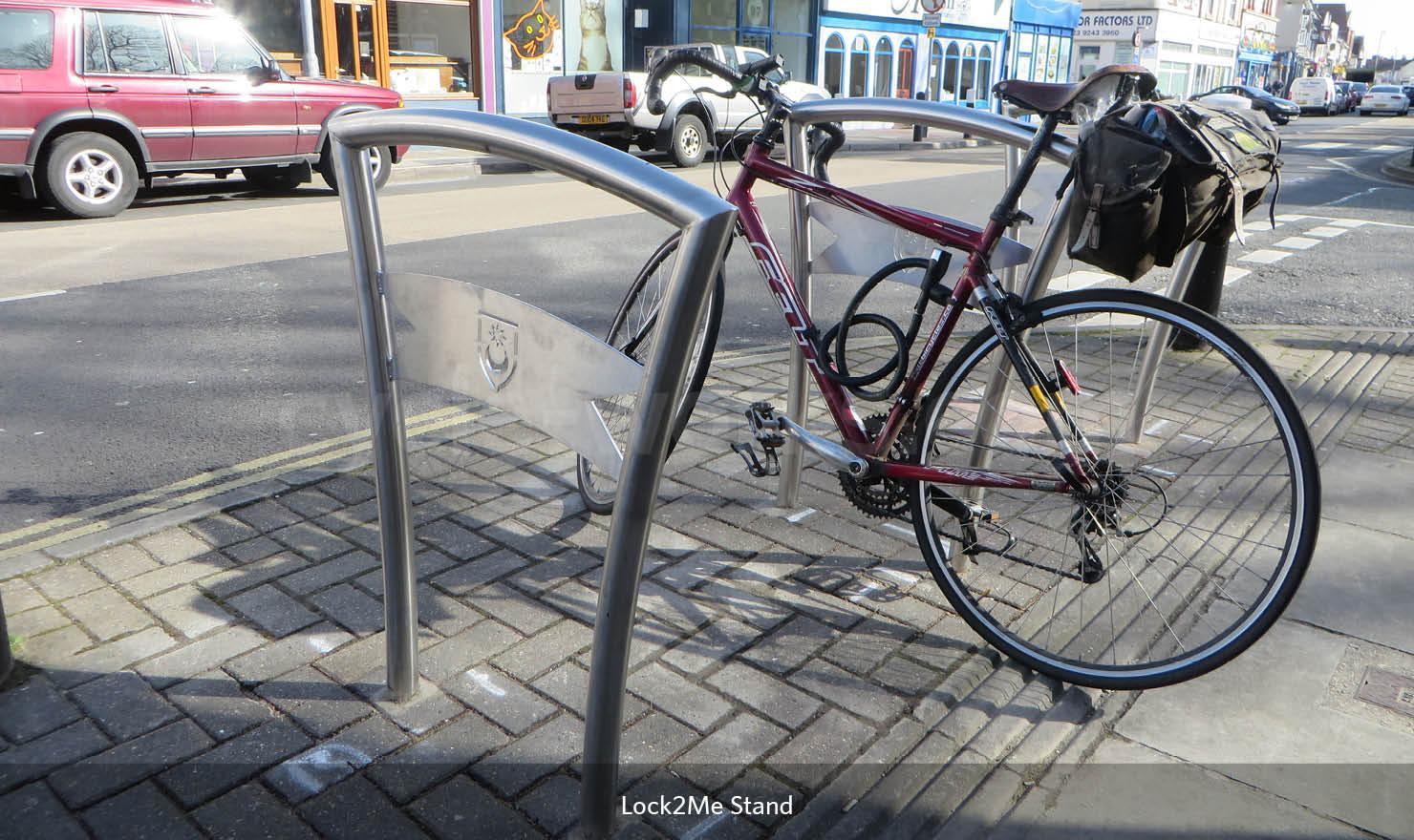 Stylish Bicycle Rack