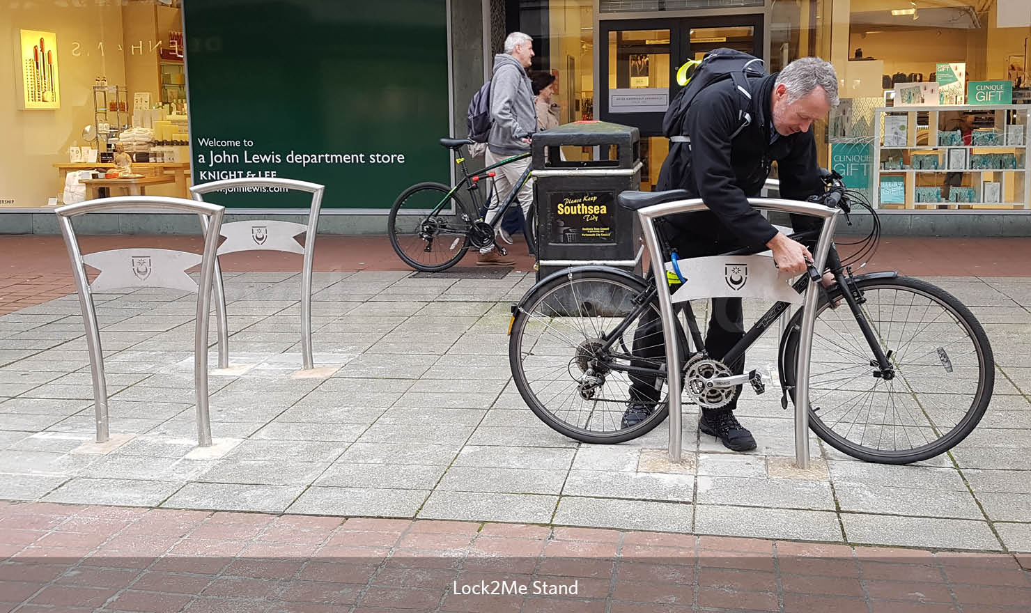 Lock to Me Cycle Stand