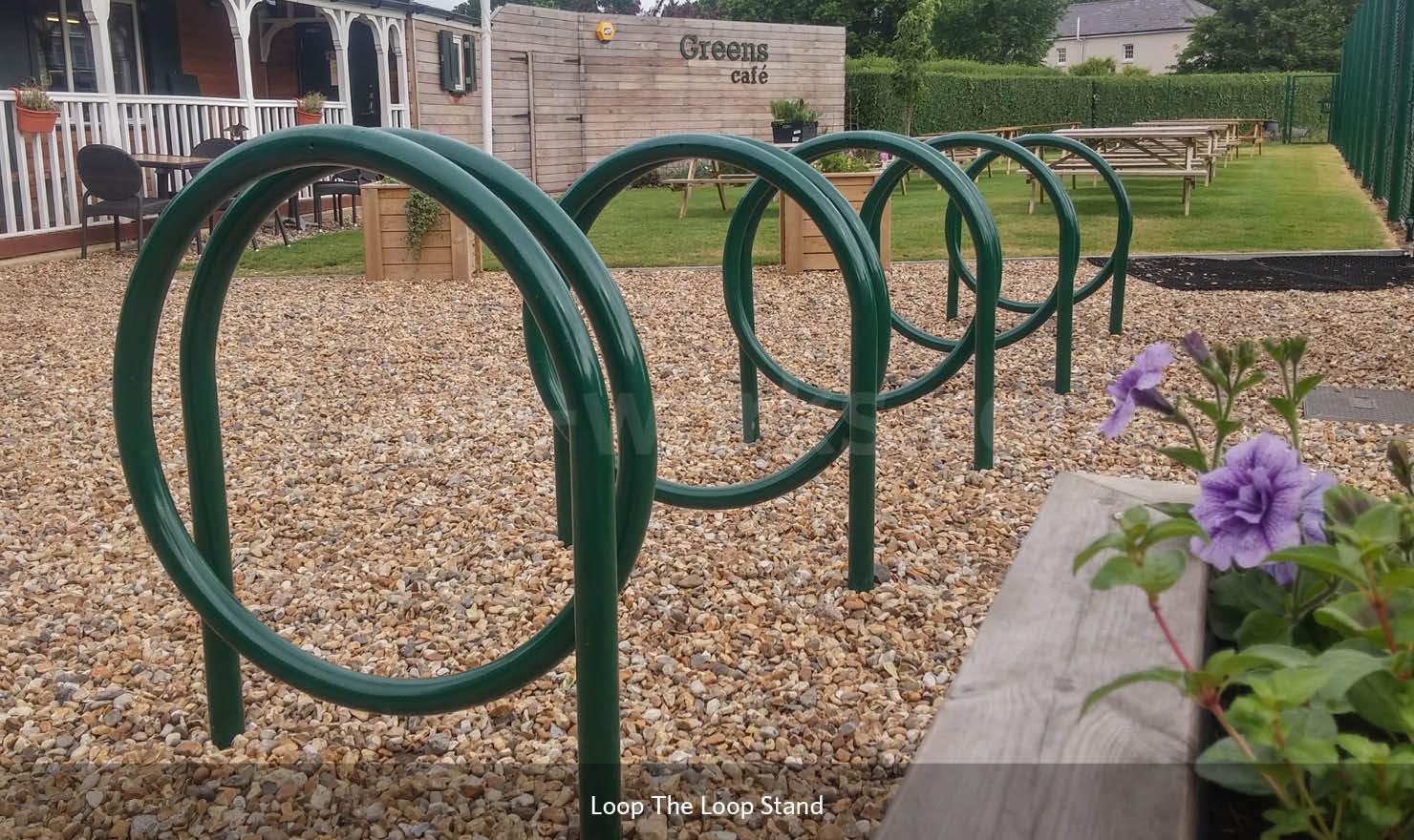 Loop the Loop Bike Rack