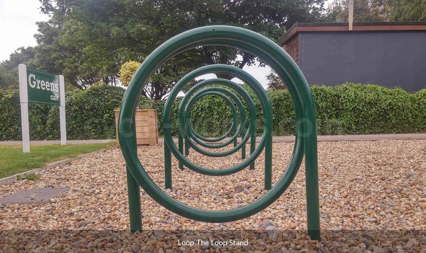 Loop the Loop Bicycle Rack