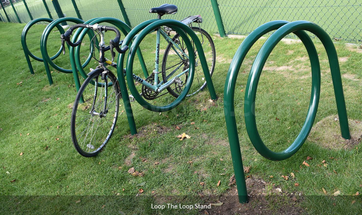 Loop the Loop Bicycle Stand