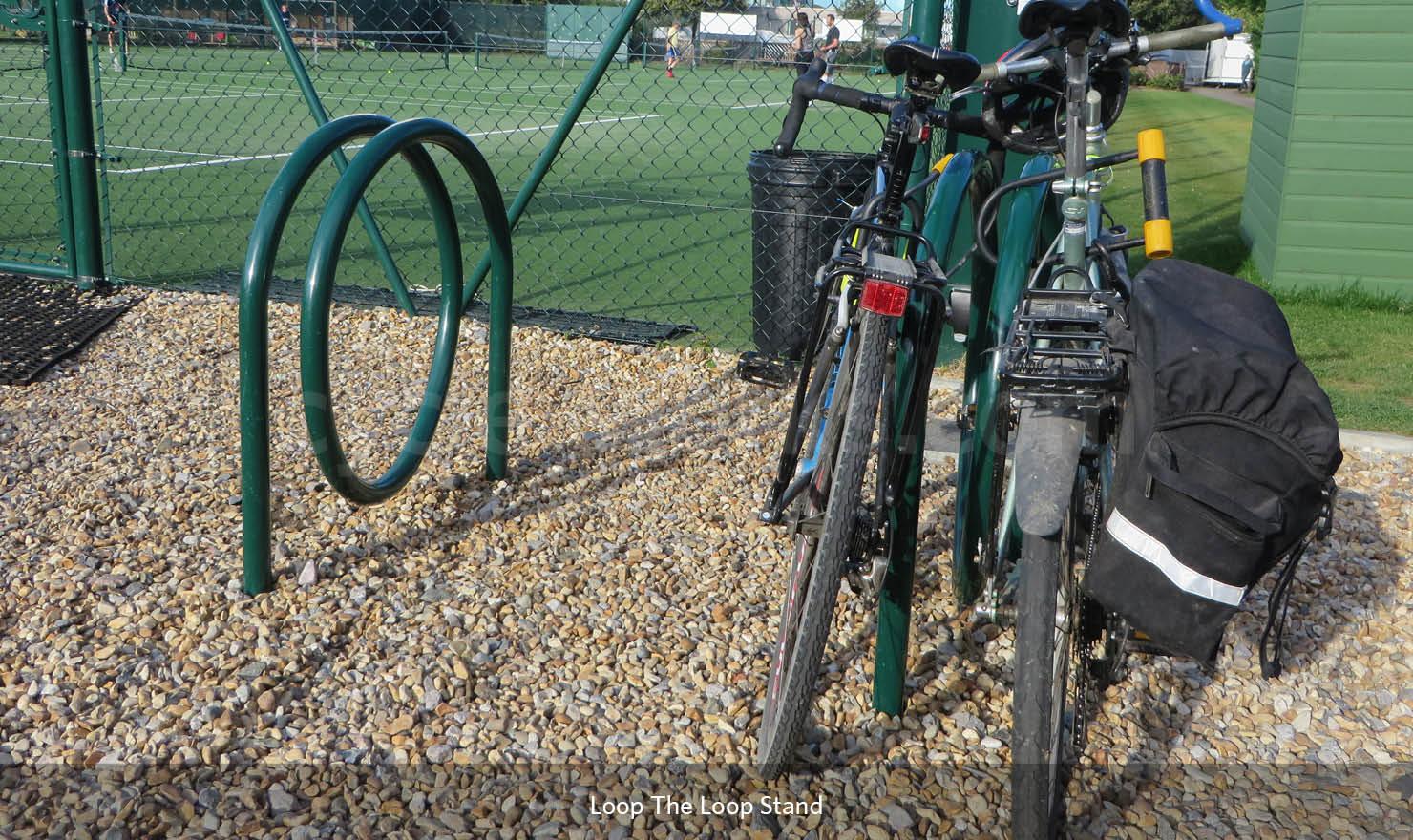 Loop the Loop Cycle Rack