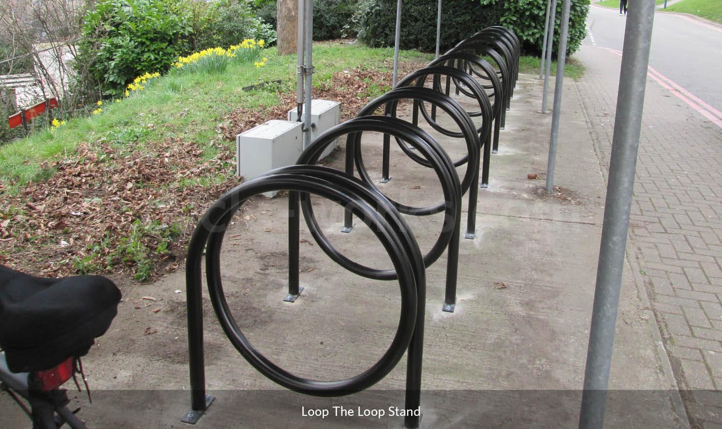Looped Bike Stand