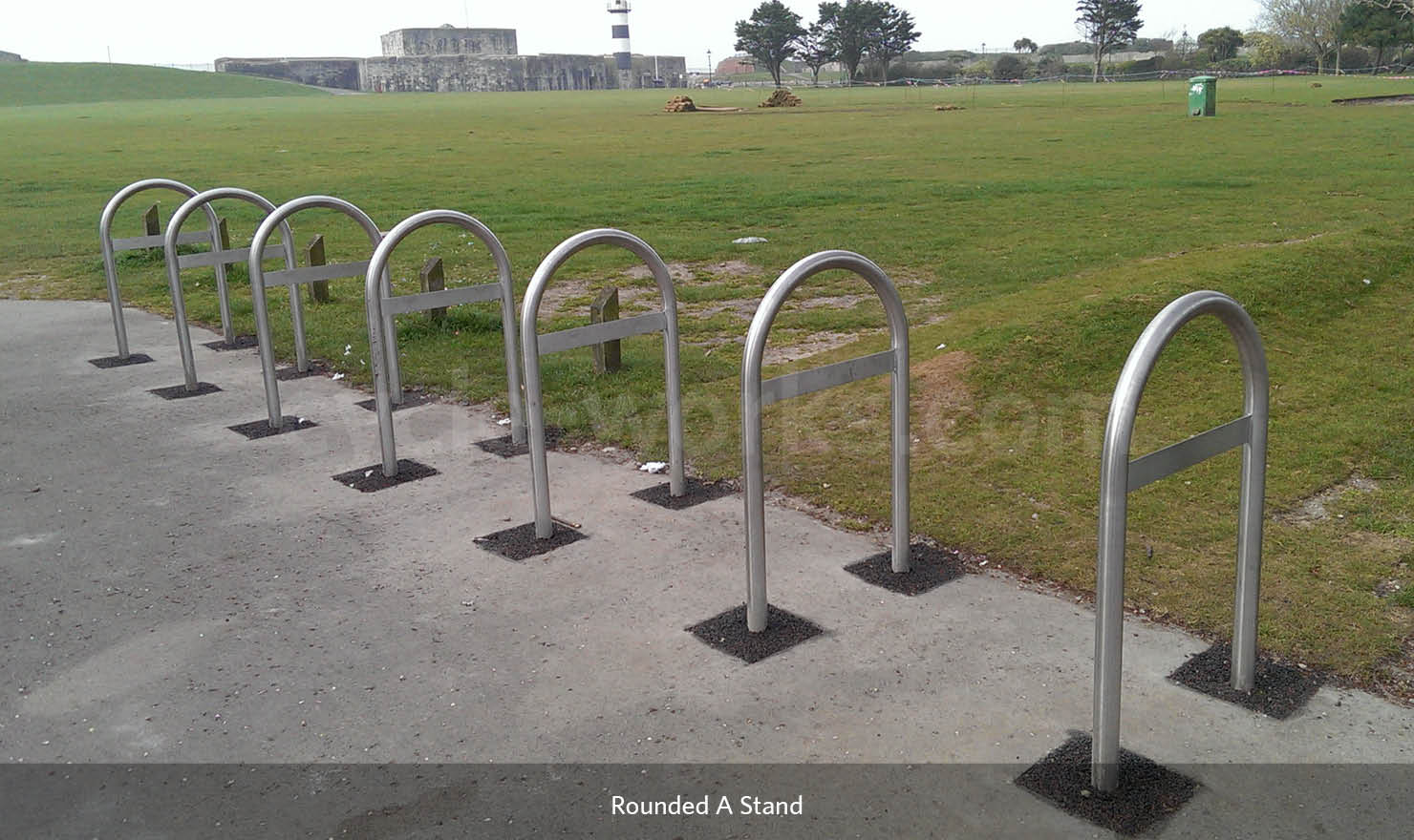 Bike Rounded A Rack