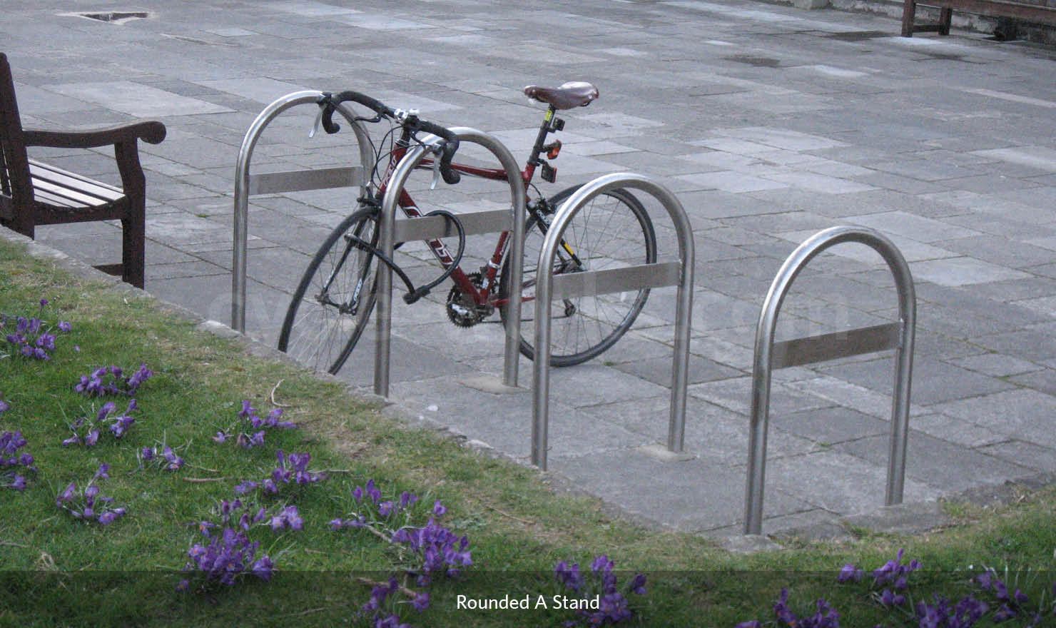 Rounded A Cycle Stand