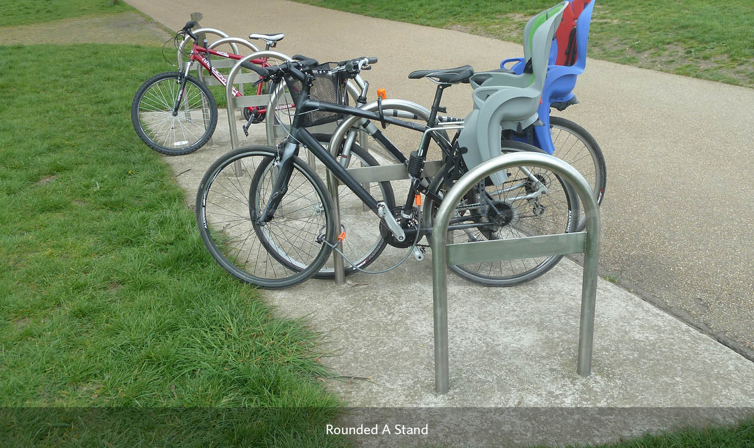 Rounded A Bike Stand