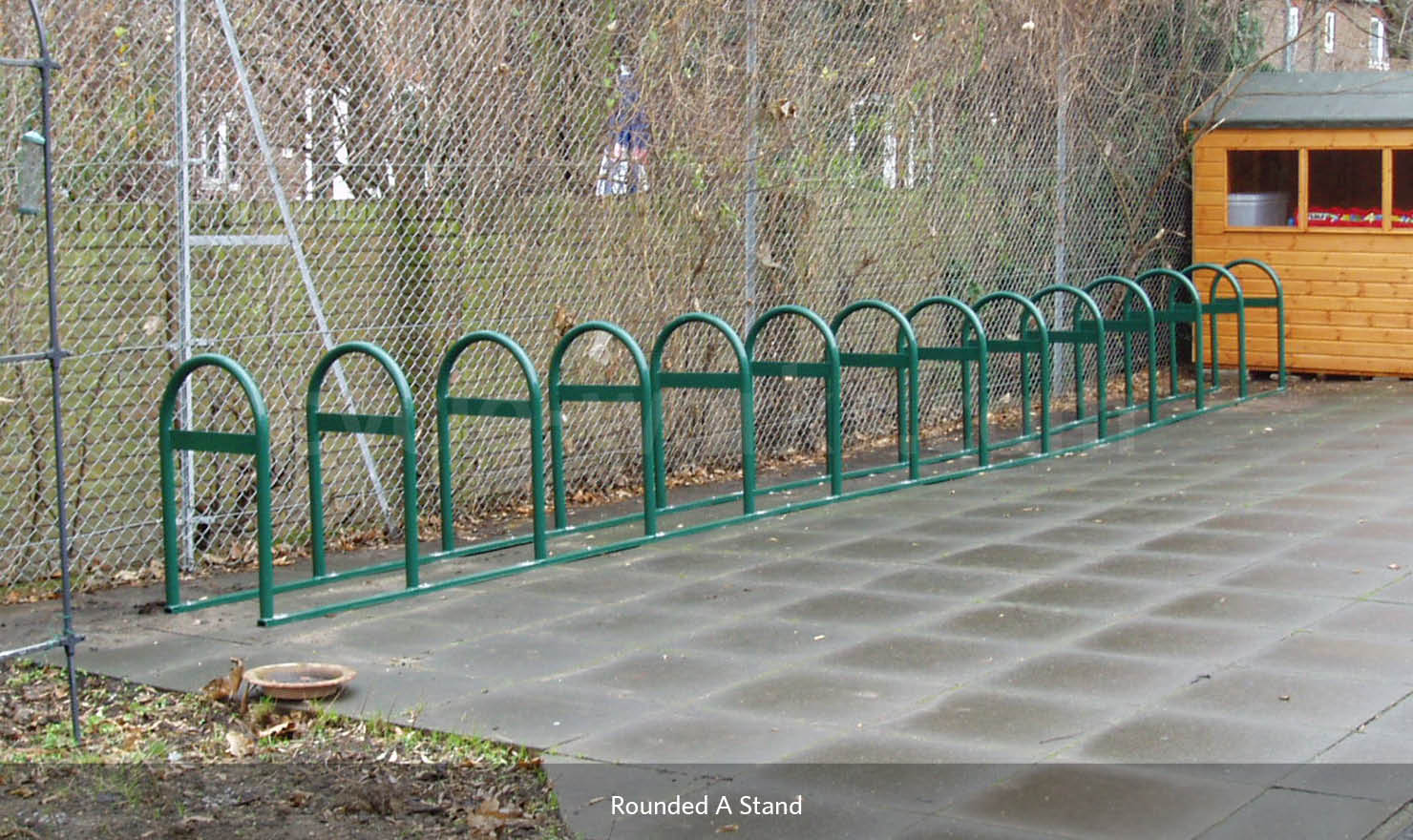 Rounded A Bike Rack