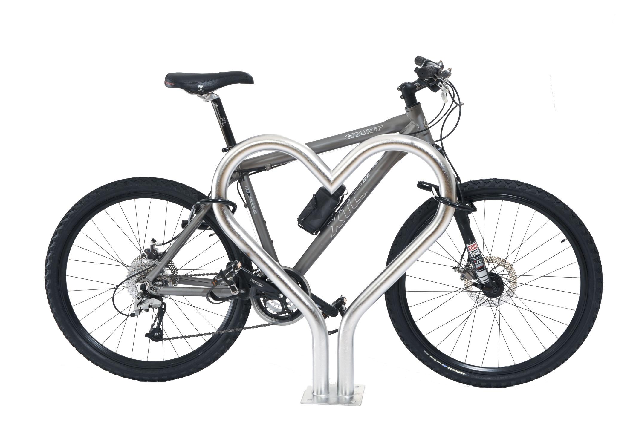 Sweet Heart Bike Rack