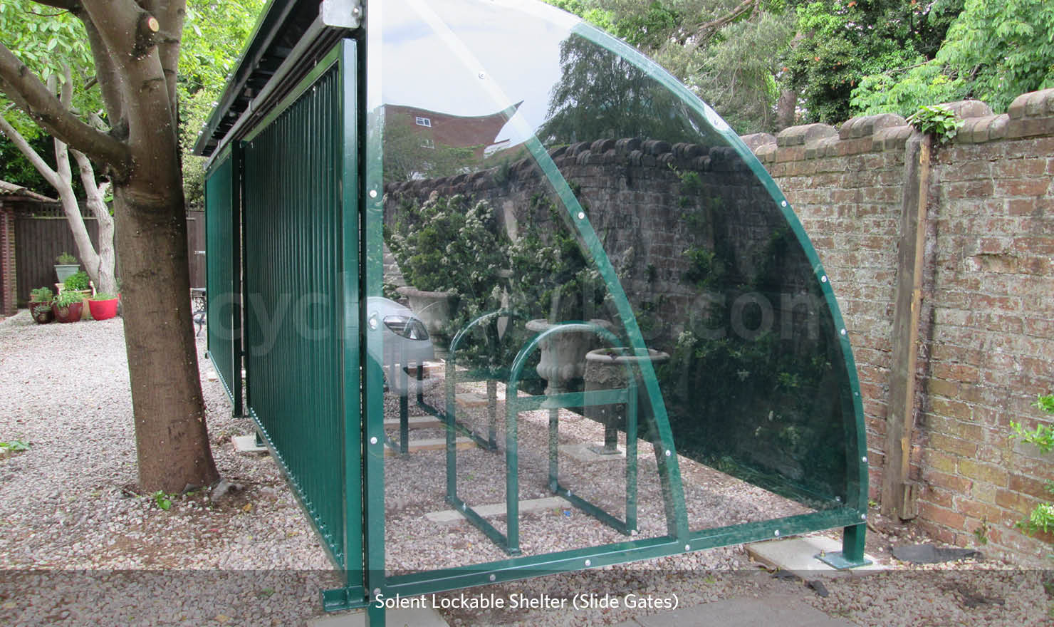 Steel Cycle Shelter