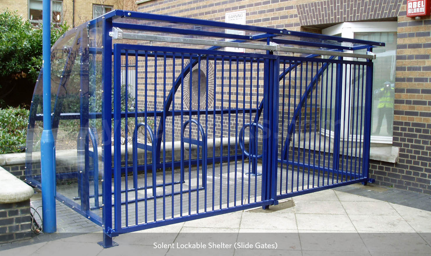 Metal Bike Shelter