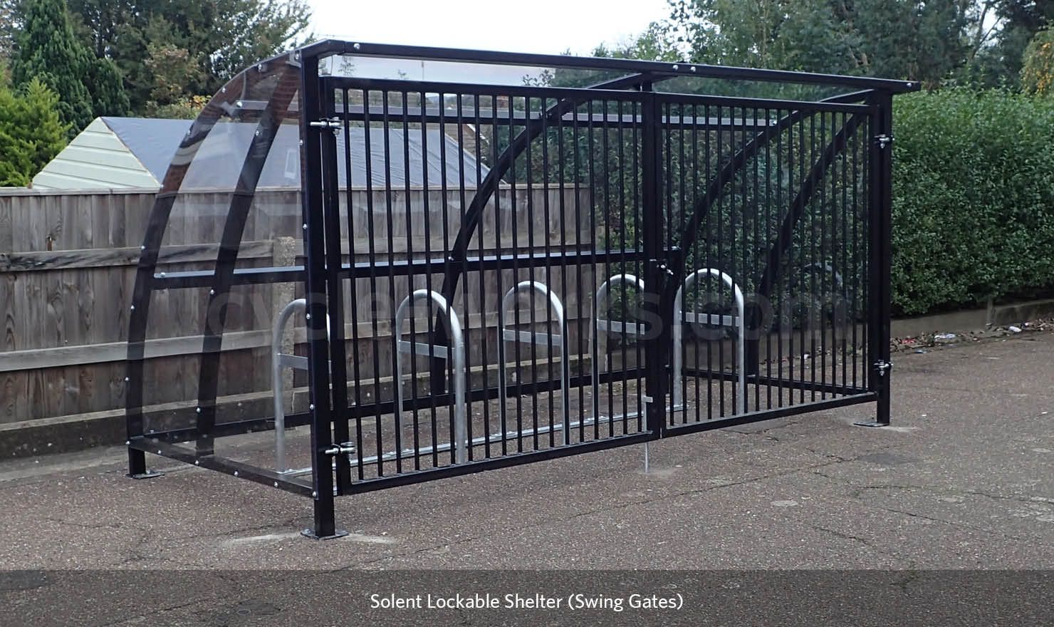 Lockable Bicycle Shelter