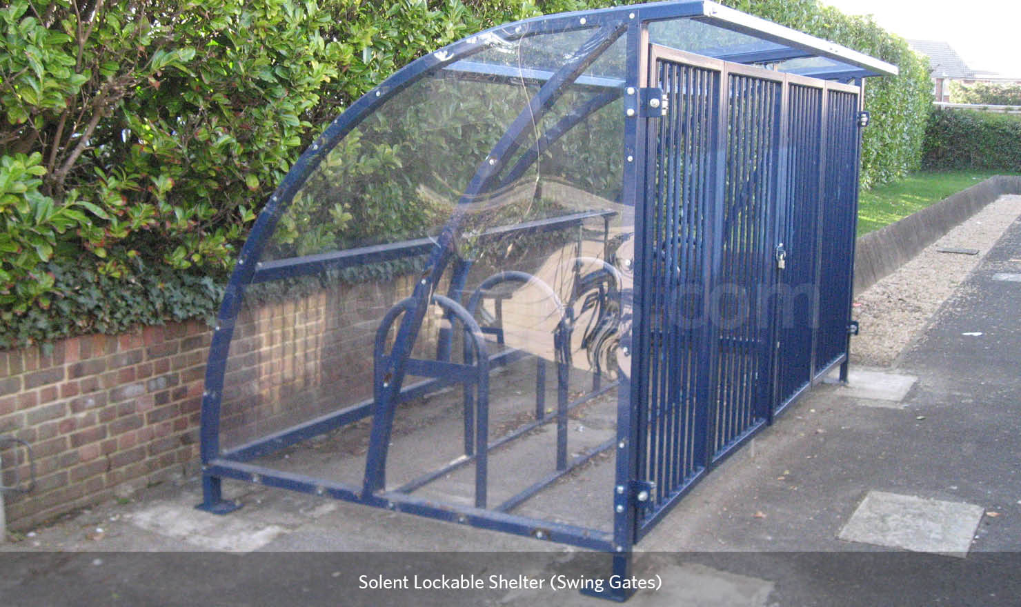 Bike Shelter with Racks