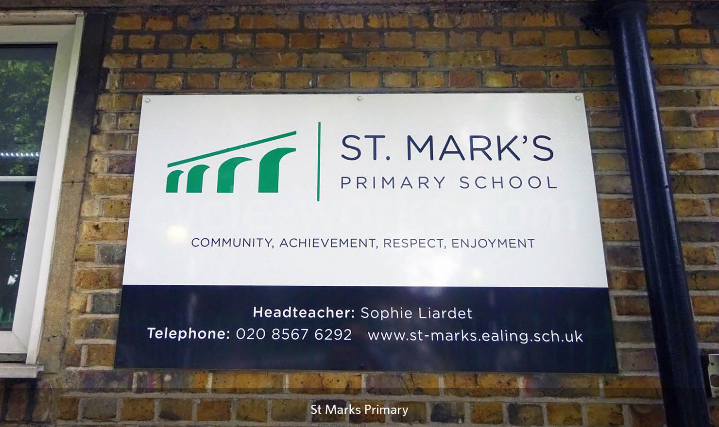 Solent Bike Shelter at St Marks Primary School in Ealing