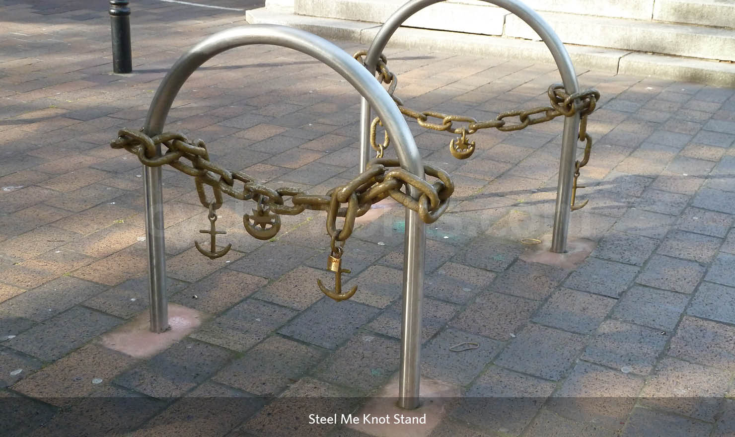 Steel Me Knot Bike Rack
