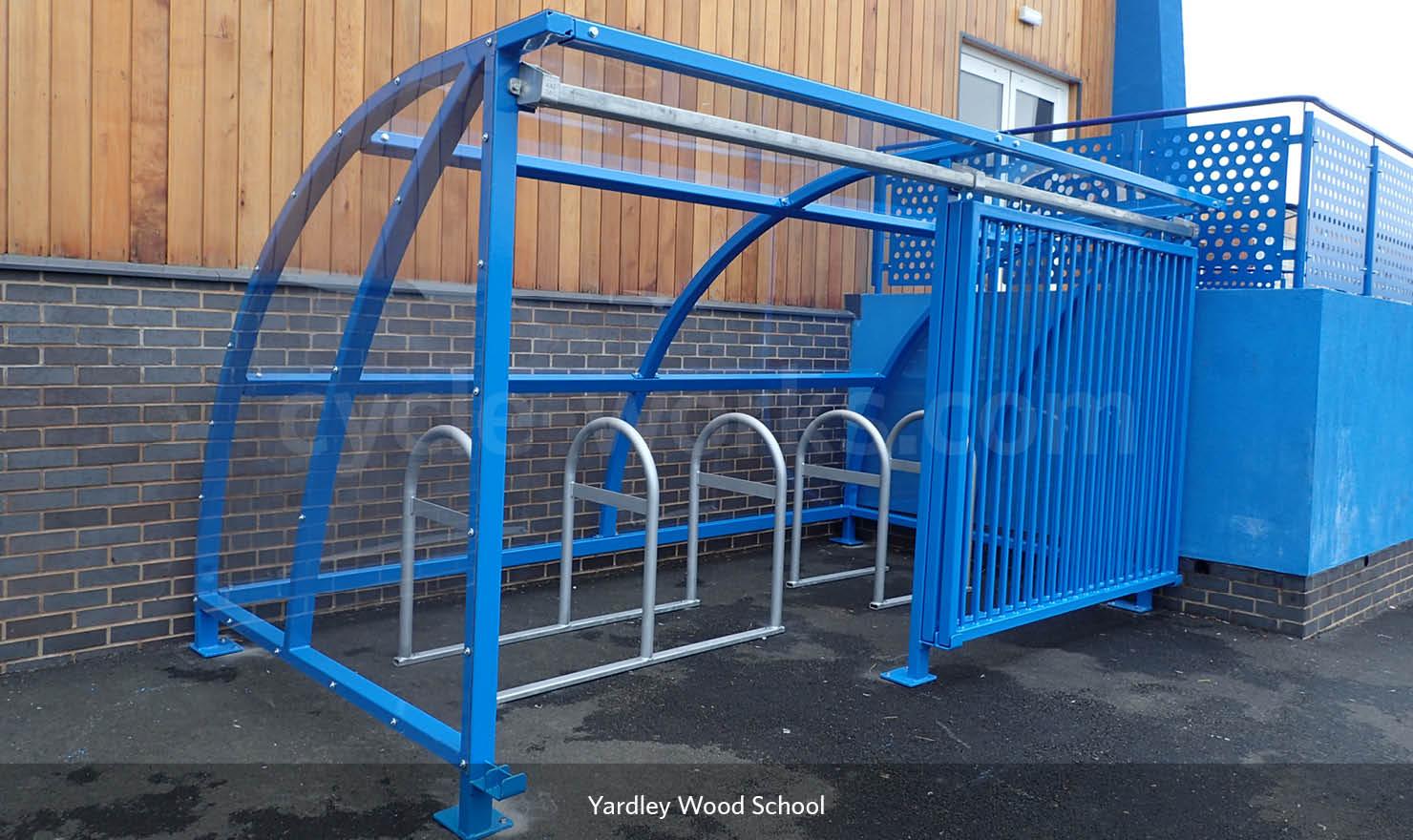 Solent Bike Shelter Installed at Yardley Wood Primary School
