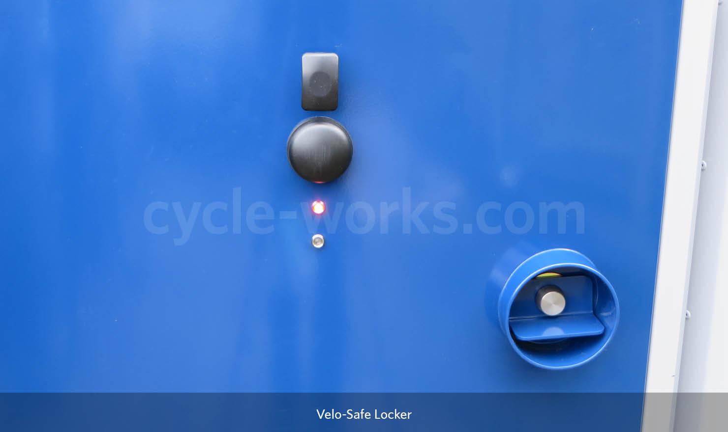 Electronic Access Bike Lockers