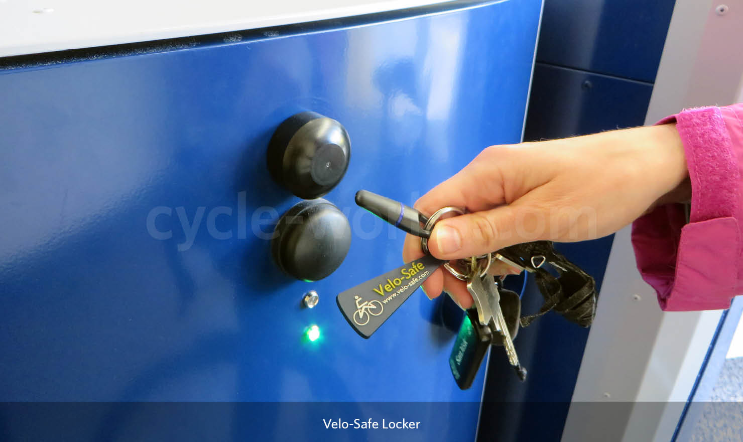 Electronic Access Bike Storage