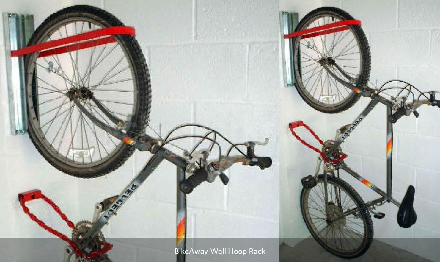 BikeAway Wall Hoop Rack