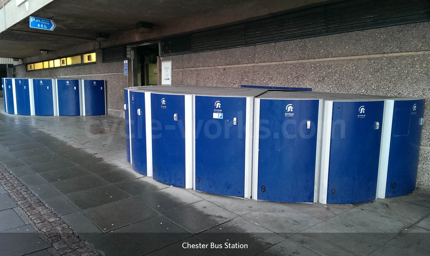 Chester Bus Station Bike Storage