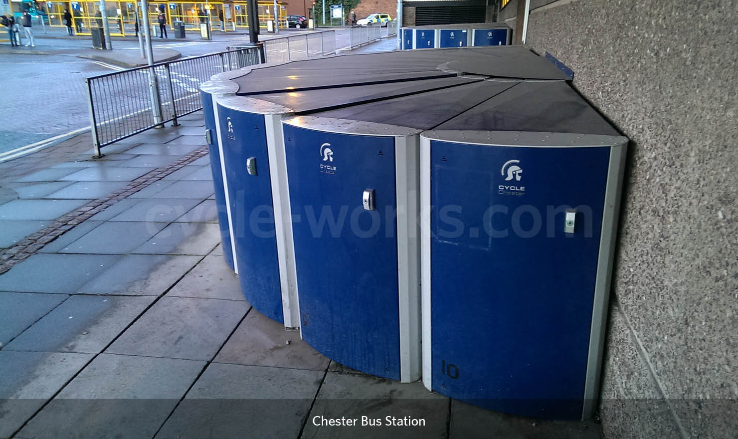 Chester Bus Station Bike Lockers